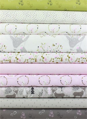 Camelot Fabrics, Hello, My Deer 10 Total