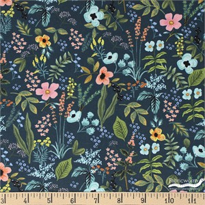 COMING SOON, Rifle Paper Co. for Cotton and Steel, Amalfi, Herb Garden Navy