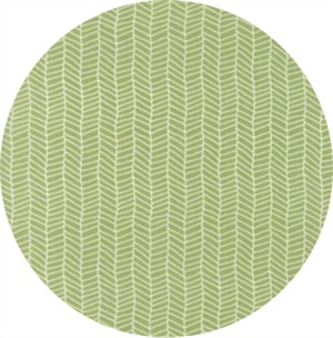 Lella Boutique for Moda, Sugar Pie, Herringbone Green