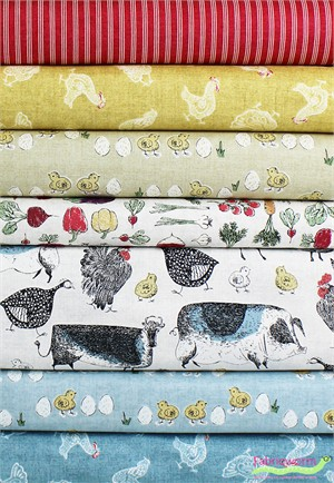 Makower UK, Home Grown in FAT QUARTERS 7 Total