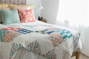 Home Harvest Quilt Kit Featuring Homestead
