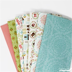 Stacy Iest Hsu for Moda, Home Sweet Home in FAT QUARTERS 6  Total