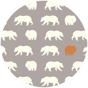 Jay-Cyn Designs for Birch Fabrics, Feather River, Bear Hike Shroom