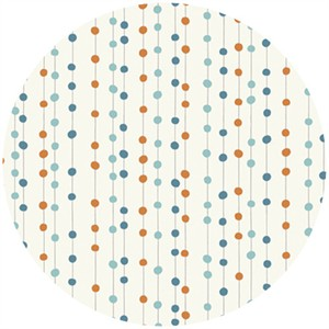 Jay-Cyn Designs for Birch Fabrics, Feather River, Bobbers Orange