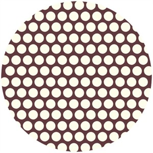 Jay-Cyn Designs for Birch Fabrics, Mod Basics, Dottie Cream Mahogany