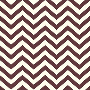 Jay-Cyn Designs for Birch Fabrics, Mod Basics 2, Organic, Skinny Chevron Mahogany