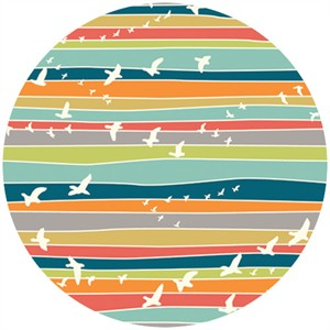 Jay-Cyn Designs for Birch Fabrics, Serengeti, KNIT, Flight Stripe