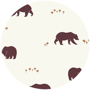 Jay-Cyn Designs for Birch Organic Fabrics, Camp Sur, Bears Camp