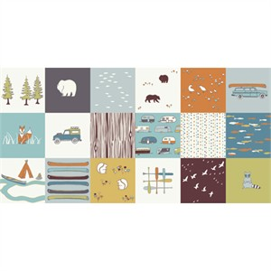 Jay-Cyn Designs for Birch Organic Fabrics, Camp Sur, Camp Sur Patch