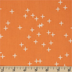 Birch Organic Fabrics, Mod Basics 3, Wink Orange