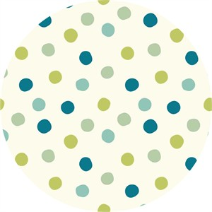 Birch Organic Fabrics, Mod Basics 3, DOUBLE GAUZE, Pop Dots Boy
