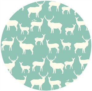Jay-Cyn Designs for Birch Organic Fabrics, Elk Grove, KNIT, Elk Fam Pool