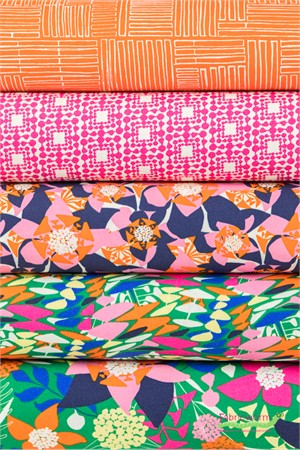 Amy Reber for Free Spirit, Jitterbug in FAT QUARTERS 5 Total