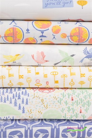 Rae Ritchie for Dear Stella, Journey On in FAT QUARTERS 5 Total (PRECUT)