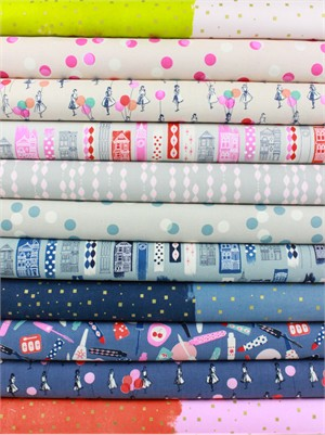 Melody Miller for Cotton and Steel, Jubilee in FAT QUARTERS 11 Total (PRECUT)