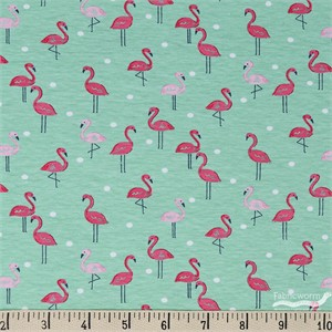 Dear Stella, JERSEY KNIT, Flamingoes Paradise