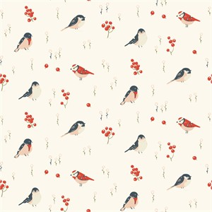 Jenny Ronen for Birch Organic Fabrics, Little, KNIT, Love Birds
