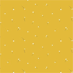 Jenny Ronen for Birch Organic Fabrics, Little, KNIT, Marigold Wishes