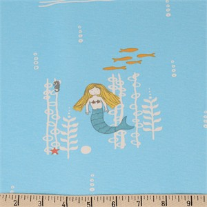COMING SOON, Jay-Cyn Designs for Birch Organic Fabrics, Storyboek Drie, KNIT, Mermaids