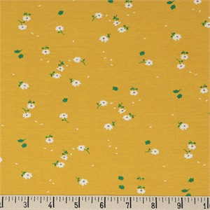 COMING SOON, Jenny Ronen for Birch Organic Fabrics, Whistle, KNIT, Sunny Daisies