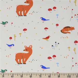 COMING SOON, Jenny Ronen for Birch Organic Fabrics, Whistle, KNIT, Sunny Forest