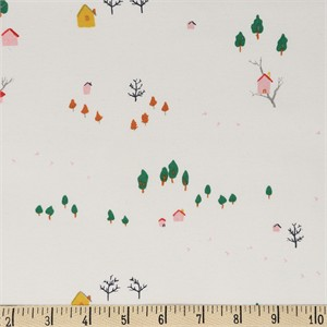 AVAILABLE FOR PREORDER, Jenny Ronen for Birch Organic Fabrics, Whistle, KNIT, Tree House
