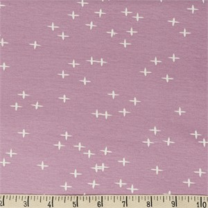 AVAILABLE FOR PREORDER, Birch Organic Fabrics, Mod Basics 3, KNIT, Wink Lavender