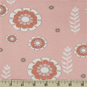 COMING SOON, Jay-Cyn Designs for Birch Organic Fabrics, Storyboek Drie, KNIT, Woodcut Floral