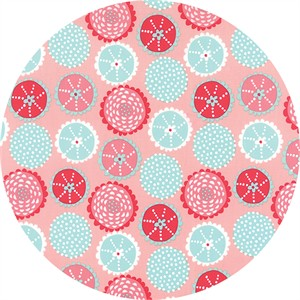 Stacy Iest Hsu for Moda, Coral Queen of the Sea, Kaleidoscope Pink