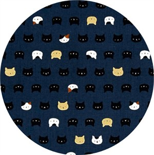 Japanese Import, Neko II, Kitty Display Midnight Metallic