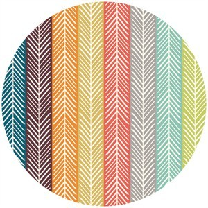 Jay-Cyn Designs for Birch Fabrics, Serengeti, KNIT, Quill Stripe Multi