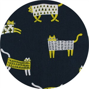 Japanese Import, CANVAS, Kooky Kitties Navy