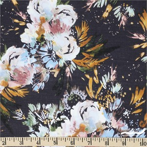 Kelly Ventura for Windham, Botany, LAWN, Full Bloom Navy