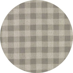 Moda, Homegrown LINENS, Gingham Barnyard Grey