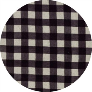 Moda, Homegrown LINENS, Gingham Nightsky Black