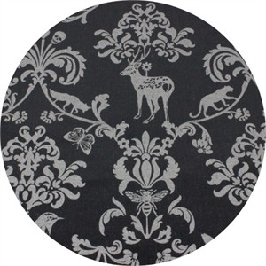 Echino, METALLIC LAMINATE, Classic Animals Royal