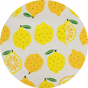 Cosmo Textiles, OXFORD, Lemonade Time Natural