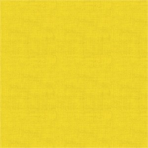 Makower UK, Linen Texture, Sunflower