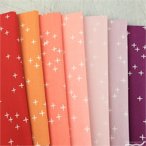 Birch Organic Fabrics, Mod Basics 3, Lip Palette in FAT QUARTERS 7 Total