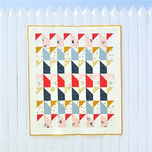 Free Pattern | Little Houses Quilt | By Suzy Williams