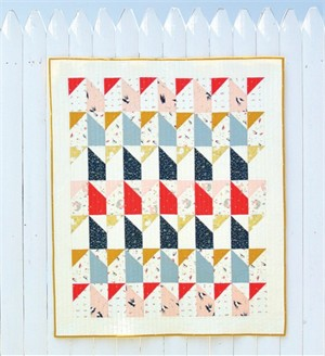 Little Houses Quilt Kit Featuring Little