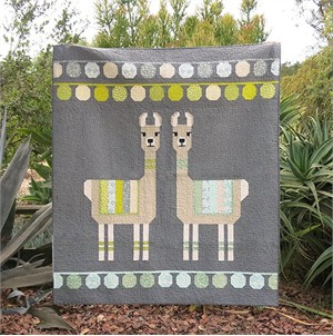 Elizabeth Hartman, Sewing Pattern, Lloyd & Lola Quilt and Pillow Pattern