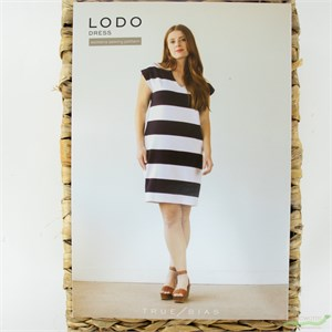 True Bias, Sewing Pattern, Lodo Dress