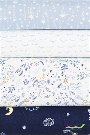 Dear Stella, Luna in FAT QUARTERS 4 Total