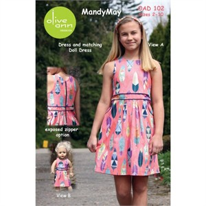 Olive Ann Designs, Sewing Pattern, MandyMay