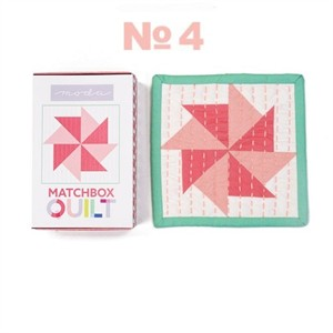 Moda Matchbox Quilt Kit #4 in Coral