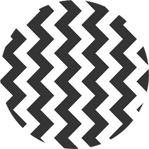 Riley Blake, Medium Chevron, Black
