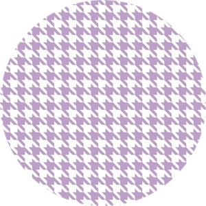 Riley Blake, Medium Houndstooth Lavender