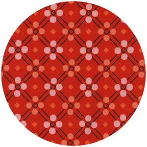 Melody Miller for Cotton and Steel, Picnic, Picnic Blanket Red