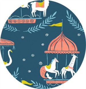 Rae Ritchie for Dear Stella, Seaside Carnival, Merry Go Round Moonlight